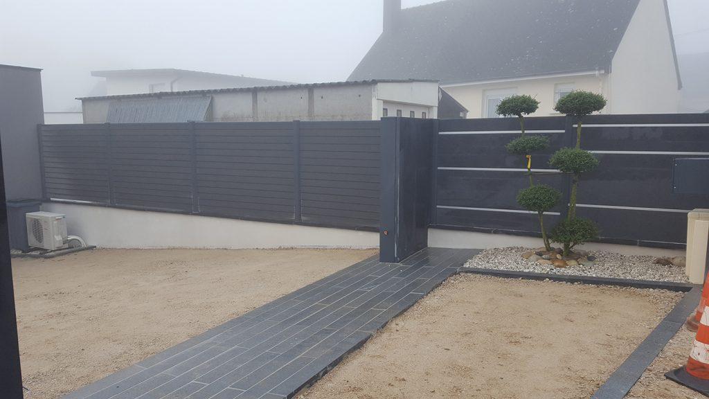 Ardoise profil anodisé . Guer, Ploërmel, Redon, Plélan-Le-Grand, Maure de Bretagne