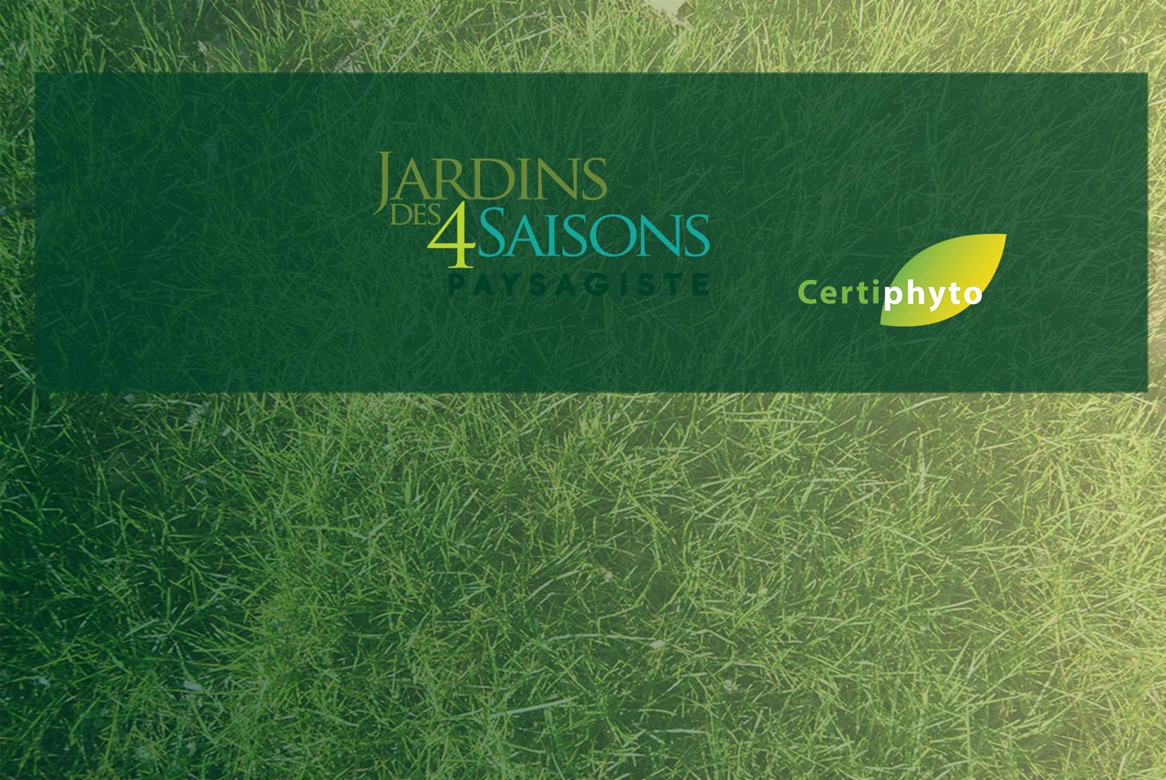 Certiphyto. Jardins des 4 saisons . Guer, Ploërmel, Redon, Plélan-Le-Grand, Maure de Bretagne