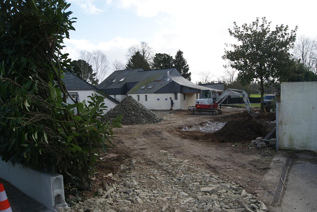 Nettoyage et préparation chantier Jardins des 4 Saisons