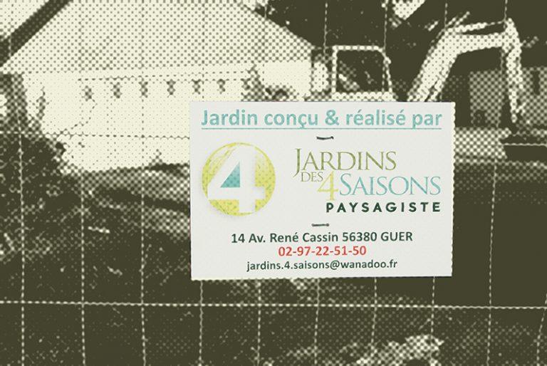 Jardin conçu et réalisé par Jardin des 4 Saisons. Guer, Ploërmel, Redon, Plélan-Le-Grand, Maure de Bretagne