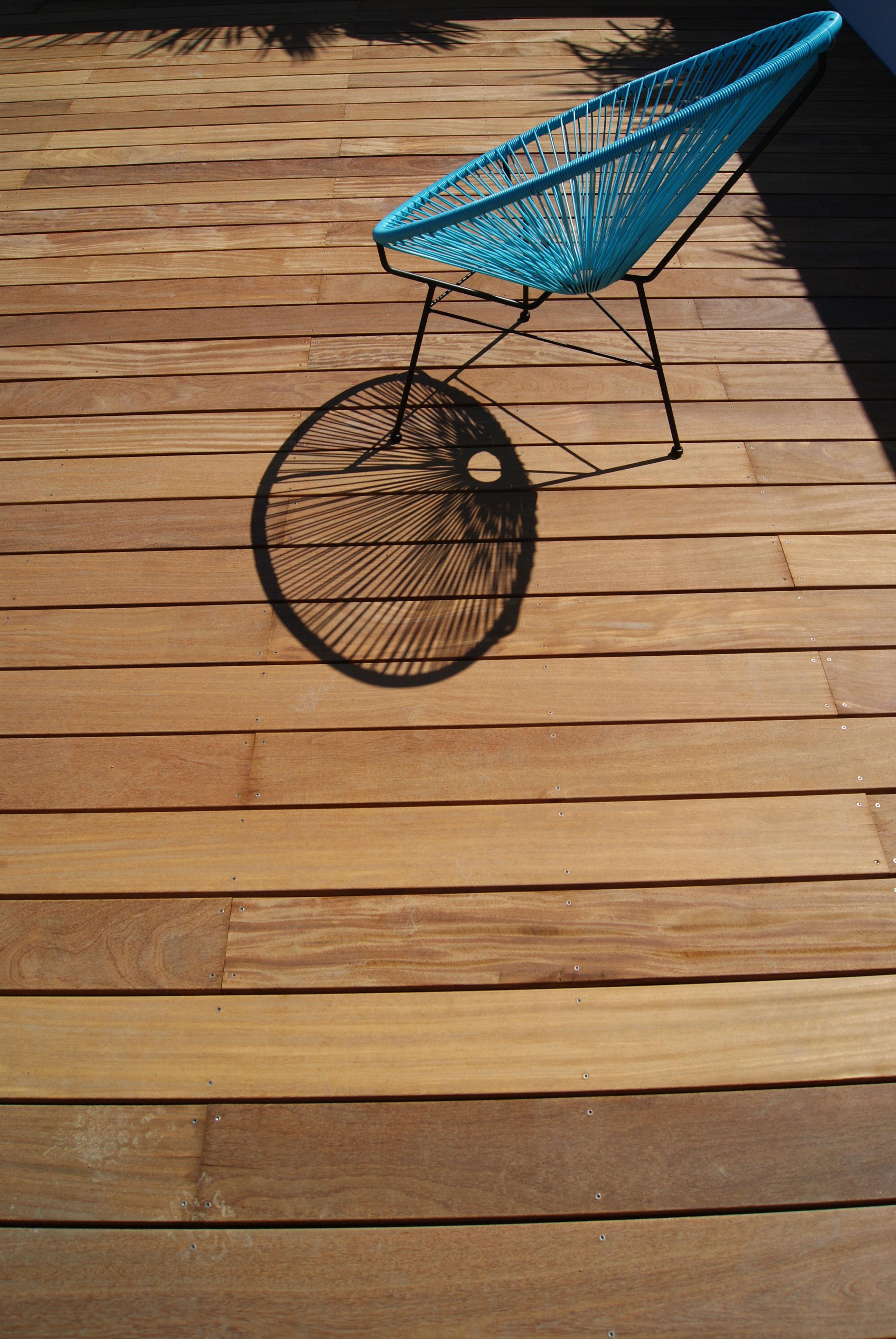 Terrasse bois exotique. Contemporain. Jardins des 4 Saisons. Guer, Ploërmel, Redon, Plélan-Le-Grand, Maure de Bretagne