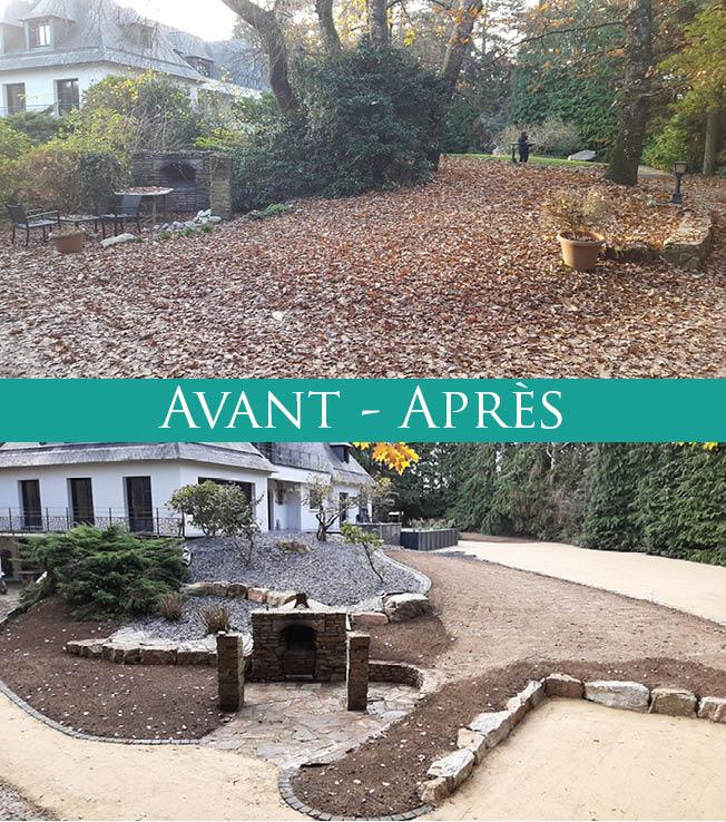 Avant-Après, suite reportage. Jardins des 4 Saisons. Guer, Ploërmel, Redon, Plélan-Le-Grand, Maure de Bretagne