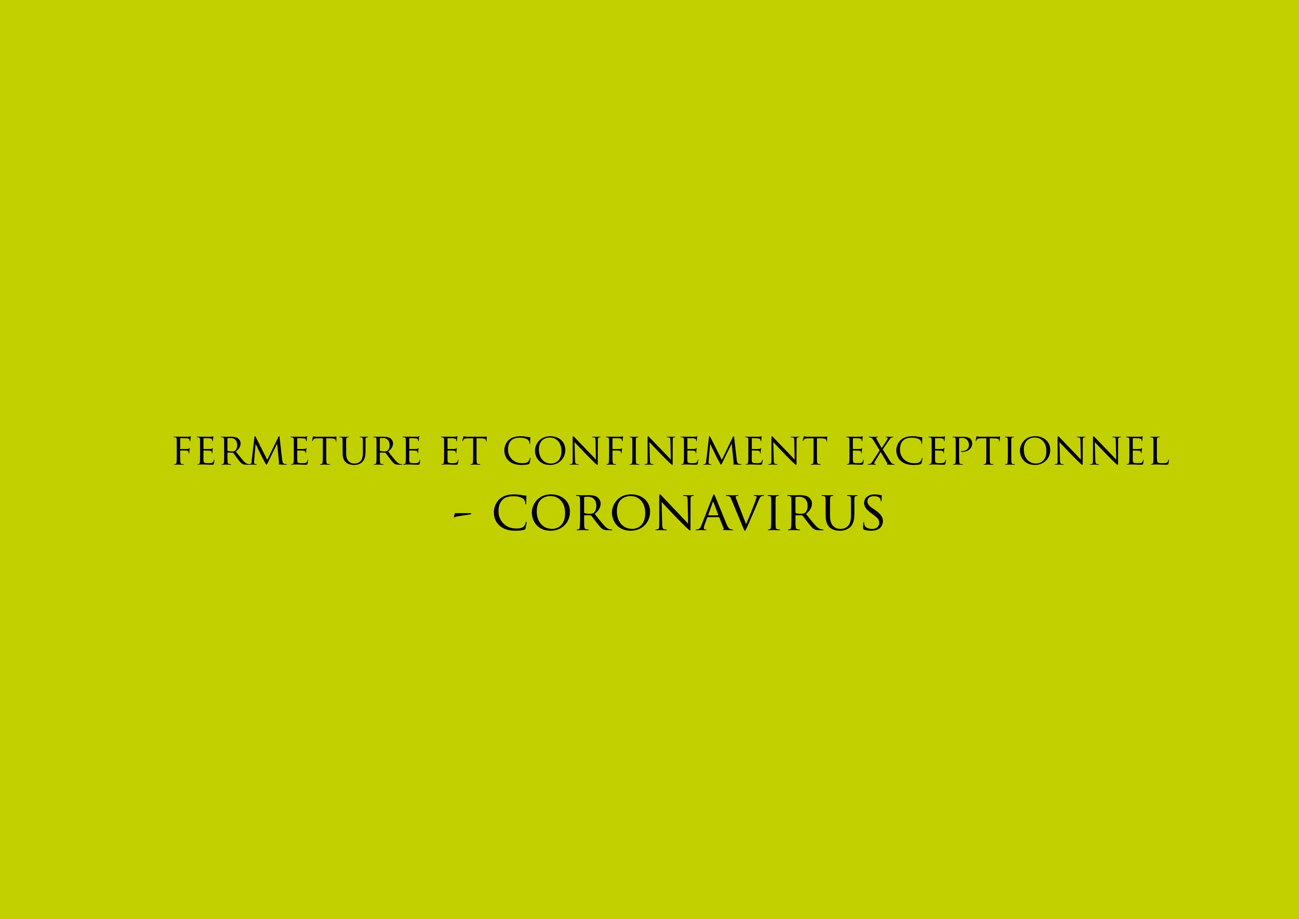 Jardins des 4 Saisons. Fermeture et confinement exceptionnel Coronavirus - Votre paysagiste sur Guer, Ploërmel, Redon, Plélan-Le-Grand, Maure de Bretagne.